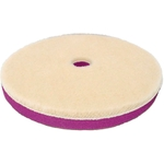 Zvizzer Doodle Wool-Pad, Ø 80x15 mm, weiss, Pack à 5 Stück