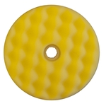 3M Doppelpolierpad mit Wechselsystem, gelb, 50879, Ø 150 mm, 1 Stück