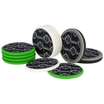 zaphiro Easy Pads Classic, Ø 150 x 25 mm, grün, mittel, Pack à 2 Stück