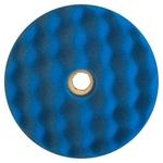 3M Doppelpolierpad mit Wechselsystem, blau, 50880, Ø 150 mm, 1 Stück