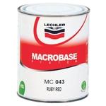 Lechler Macrofan HS Ruby Red, MC043, 1 Liter