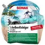 SONAX Sommer ScheibenReiniger Ocean Fresh, Gebrauchsfertig, Beutel à 3 Liter