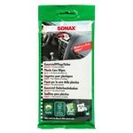SONAX Chiffons de nettoyage synthétique brillant, sachet de 10 pièces