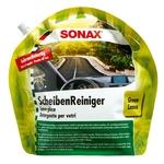 SONAX SommerScheibenReiniger Green Lemon, Gebrauchsfertig, Beutel à 3 Liter