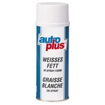 AUTO-PLUS Graisse blanche, PN2066, spray de 400 ml