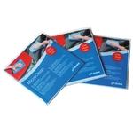 AUWA MicroClean, Chiffon en microfibre, carton à 200 pièces