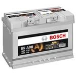 Bosch Starter-Batterie 12V 570 901 076 70Ah, S5 A08 AGM H6