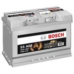 Bosch Starter-Batterie 12V 580 901 080 80Ah, S5 A11 AGM H7