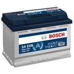 Bosch Batterie de démarrage 12V 570 500 065 70Ah, S4 E08 EFB H6
