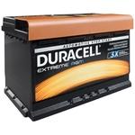 Duracell Starter Batterie 12V 58001 DE 80 AGM 80Ah H7