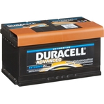 Duracell Batterie de démarrage Advanced 12V 58014 DA 80