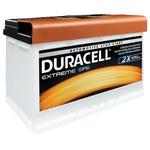 Duracell Batterie de démarrage 12V 57000 DE 70 EFB 70Ah H6