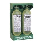 Augenduschstation mit 2 Spülflaschen (Wandmontage)