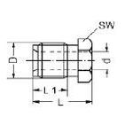 Überwurfschraube für Bremsleitung M10x1.25
