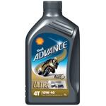 SHELL Advance 4T Ultra 10W/40, Dose à 1 Liter