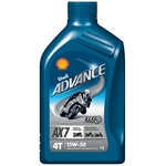 SHELL Advance 4T AX7 15W/50, Dose à 1 Liter