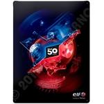 """ELF Eisenschild Dekoration """"ELF 50 Jahre"""" , 30 cm x 40 cm"""