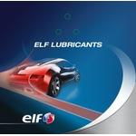 ELF Etiquettes de service vidange d'huile
