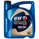 ELF Evolution Full-Tech LLX 0W/30, bidon de 5 litres