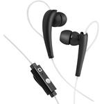 SBS Stereo-Sportkopfhörer In-Ear, schwarz, mit Antworttaste