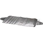 Thermoschutz Alu, 70 × 200 cm, mit seitlichen Lappen zur Befestigung, Winter + Sommer