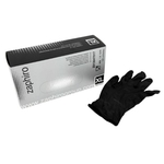 zaphiro Handschuhe Nitril schwarz, Grösse L, Pack à 100 Stück