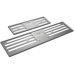 ProFrame 2, Nummernrahmen Set, Aluminium, Shadow Grey, 30 x 8 cm / 50 x 11 cm