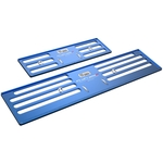 Nummernrahmen Set, ProFrame 2, Aluminium, Deep Sea Blue, 30 x 8 cm / 50 x 11 cm