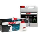 SONAX PROFILINE Assortiments de nettoyage, PowerAir Clean Gun + Nettoyant intérieur 10 litres