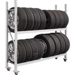 SPEZIAL Reifentransportwagen für 16 Reifen