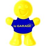 le GARAGE  Joe Vanille, gelb-blau