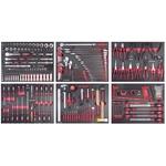 KRAFTWERK Ass. d'outils 6 tir. COMPLETO EVA 280 pcs, 105.515.000