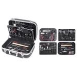 KRAFTWERK Coffret d'outils B140 pour ébénistes, ABS, 113 pcs. 202.140.100