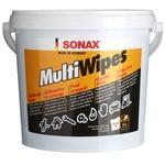 SONAX MultiWipes, Reinigungstücher, Eimer à 72 Stück