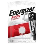 Energizer Knopfzelle Lithium, CR2025, 3.0 V, Blister