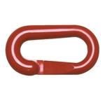 Connettori Nylon, rosso, set di 10 pezzi